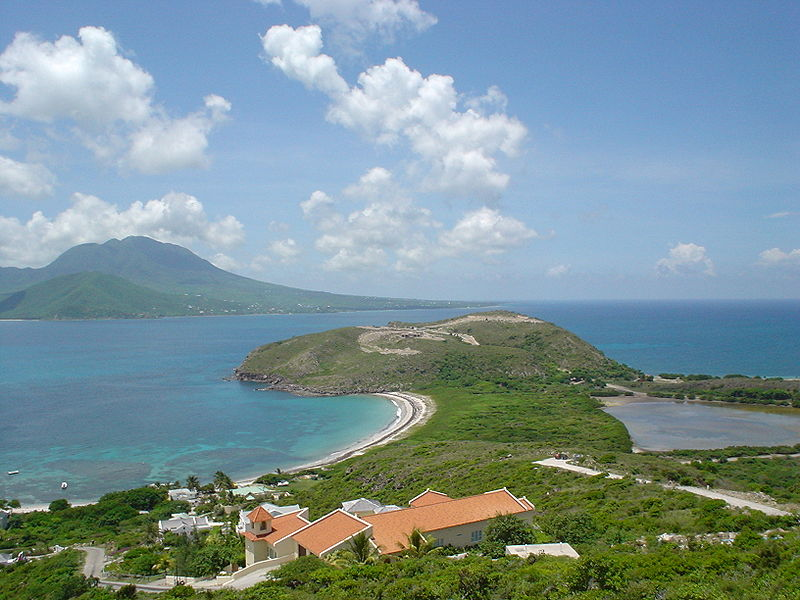 Saint Kitts and Nevis - Southeast tip